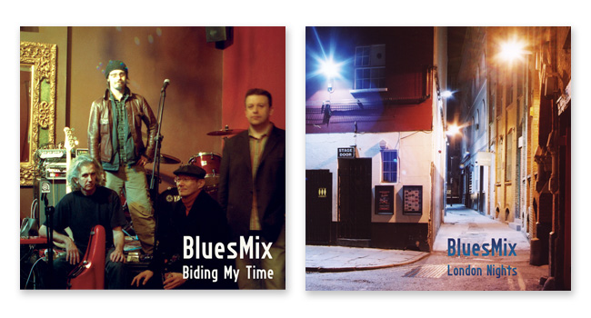 BluesMix album covers