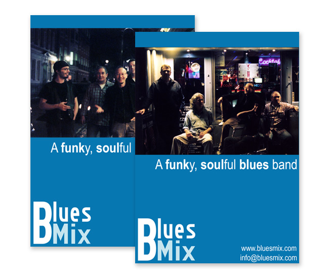 BluesMix postcards