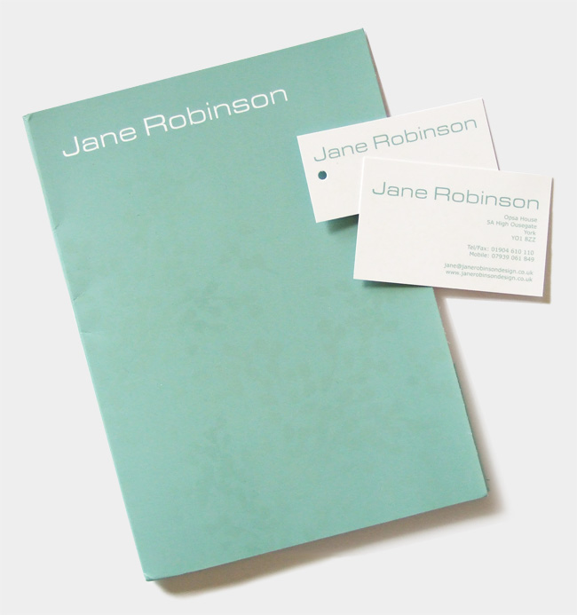 Jane Robinson stationery set