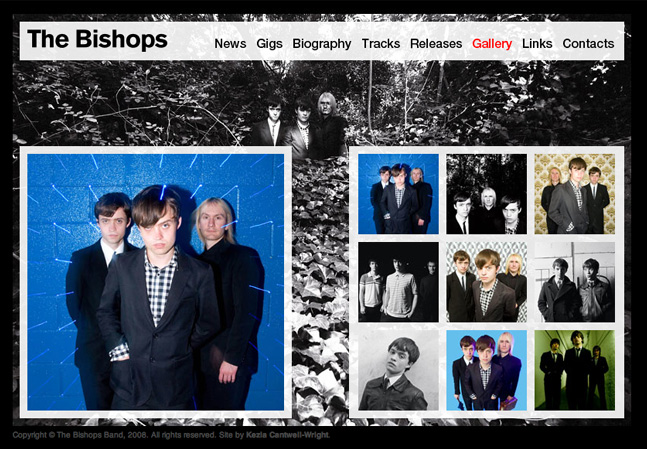 The Bishops website gallery page