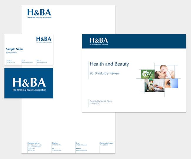H&BA stationery
