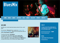 BluesMix website