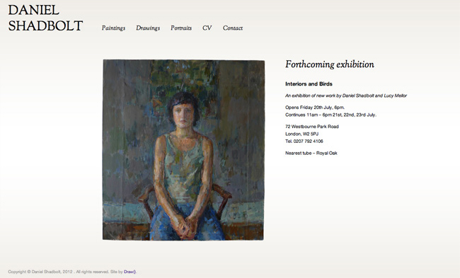 Daniel Shadbolt - homepage